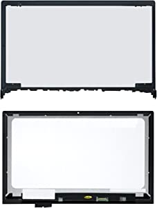 LCDOLED Compatible 15.6 inch FullHD 1080P LED LCD Display Touch Screen Digitizer Assembly + Bezel Replacement for Lenovo Flex 2-15 20405