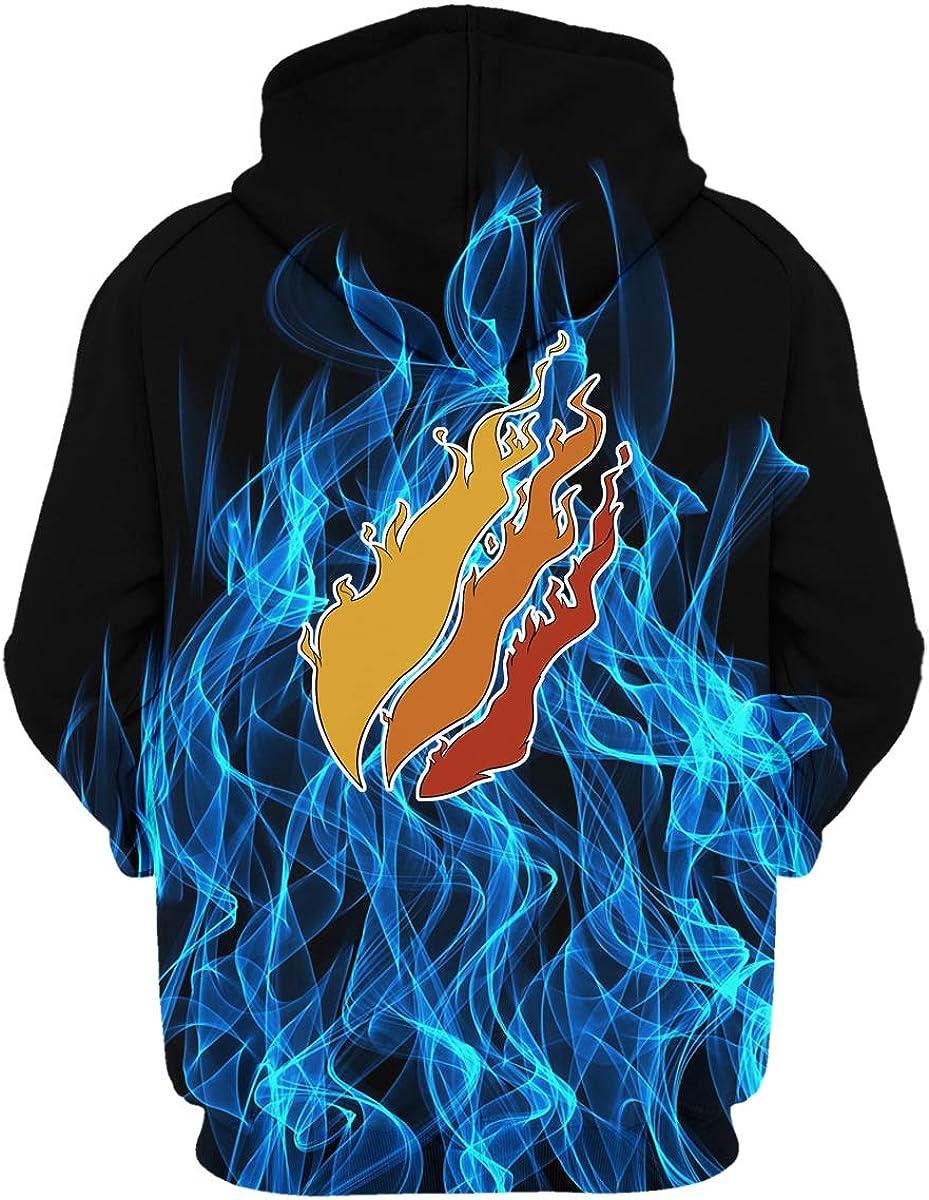 Preston Fire Nation Playz Gamer Flame 3D Print Hoodie Sweatshirts Video Game for Kids