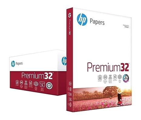 Amazon.com: HP 115300R Papel para impresora, Premium24, 8.5 ...