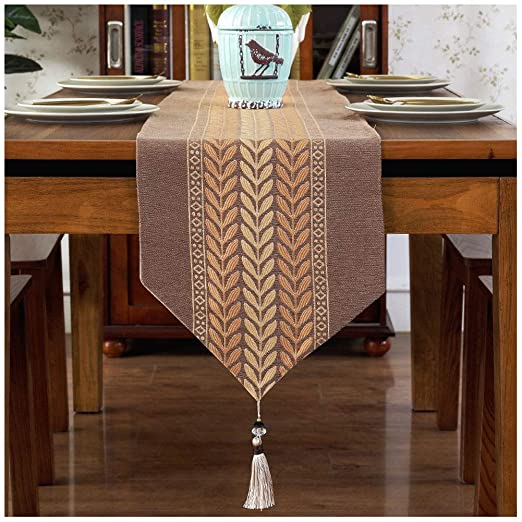 Caminos de mesa Chino Zen Table Runner Decoración Comedor Mesa ...