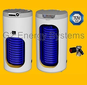 100 Liter L indirekt beheizter Warmwasserspeicher mit 1 ...