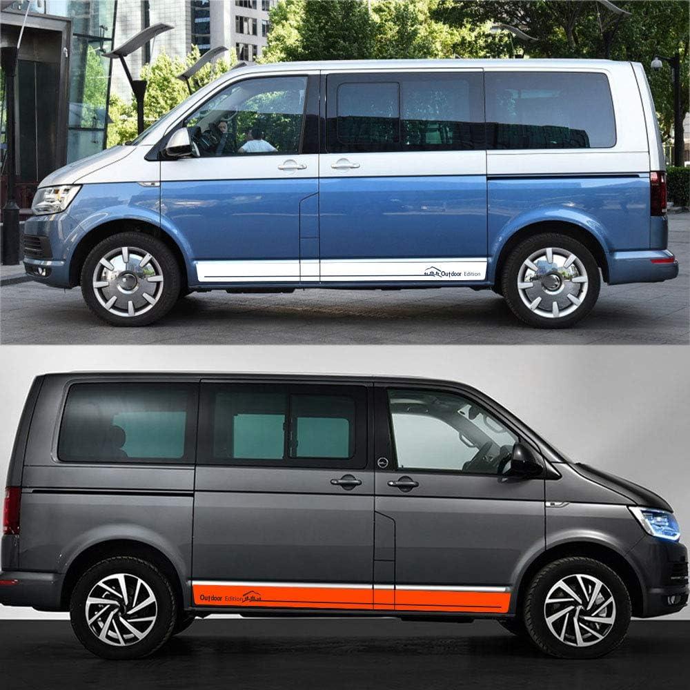 For Volkswagen Multivan Transporter Caravelle T5 T6 HLLebw Auto Pegatinas de Calcoman/ías