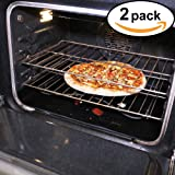 """Stately Kitchen's Extra Durable Large Non Stick Teflon Oven Liners, Pan Liners and Cookie Sheets 17"""" x 25"""" 2 Pack"""