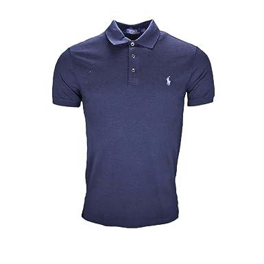 Fit Polo Bleu Marine Homme Slim Pour Ralph Lauren 0PkwOn