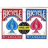 US Playing Card Co.. - 1001781 - Jeu de Société - Bicycle Rider Back Standard Index - 2 Pack