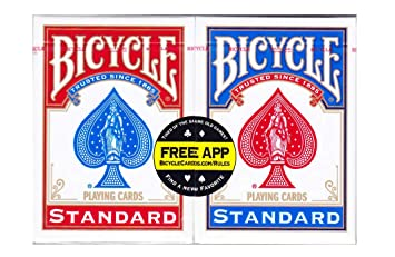 Bicycle Us Playing Card 60808 Lote De Barajas Inglesas 2 X 54