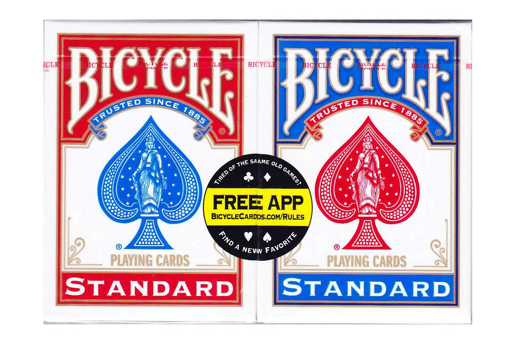 US Playing Card Co.. - 1001781 - Jeu de Société - Bicycle Rider Back Standard Index - 2 Pack product image