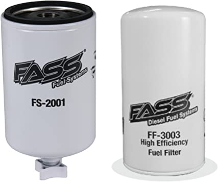 Titanium Series Water Separator FS-2001 FASS