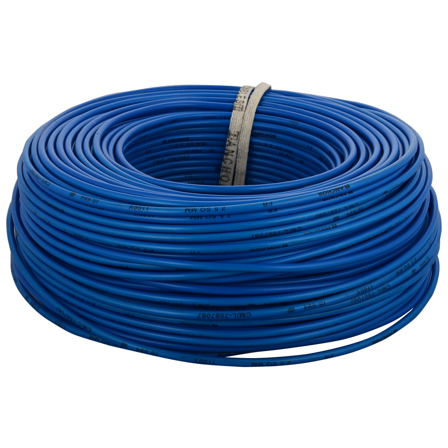 Cable buy electric cable 2 5 sq mm cable 1 5 sqmm wire product on - Anchor Insulated Copper Pvc Cable 2 5 Sq Mm Wire Blue Amazon In Amazon In