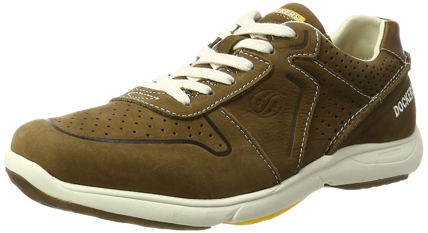 Dockers by Gerli Herren 40ML001-300 Low-Top, Beige (Hellkhaki 860), 42 EU