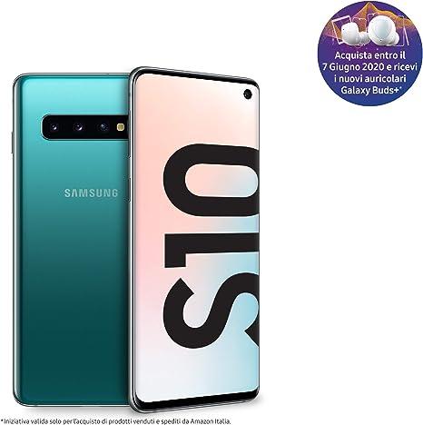 """Samsung Galaxy S10 - Smartphone de 6.1"""", Dual SIM, 512GB, Verde ..."""