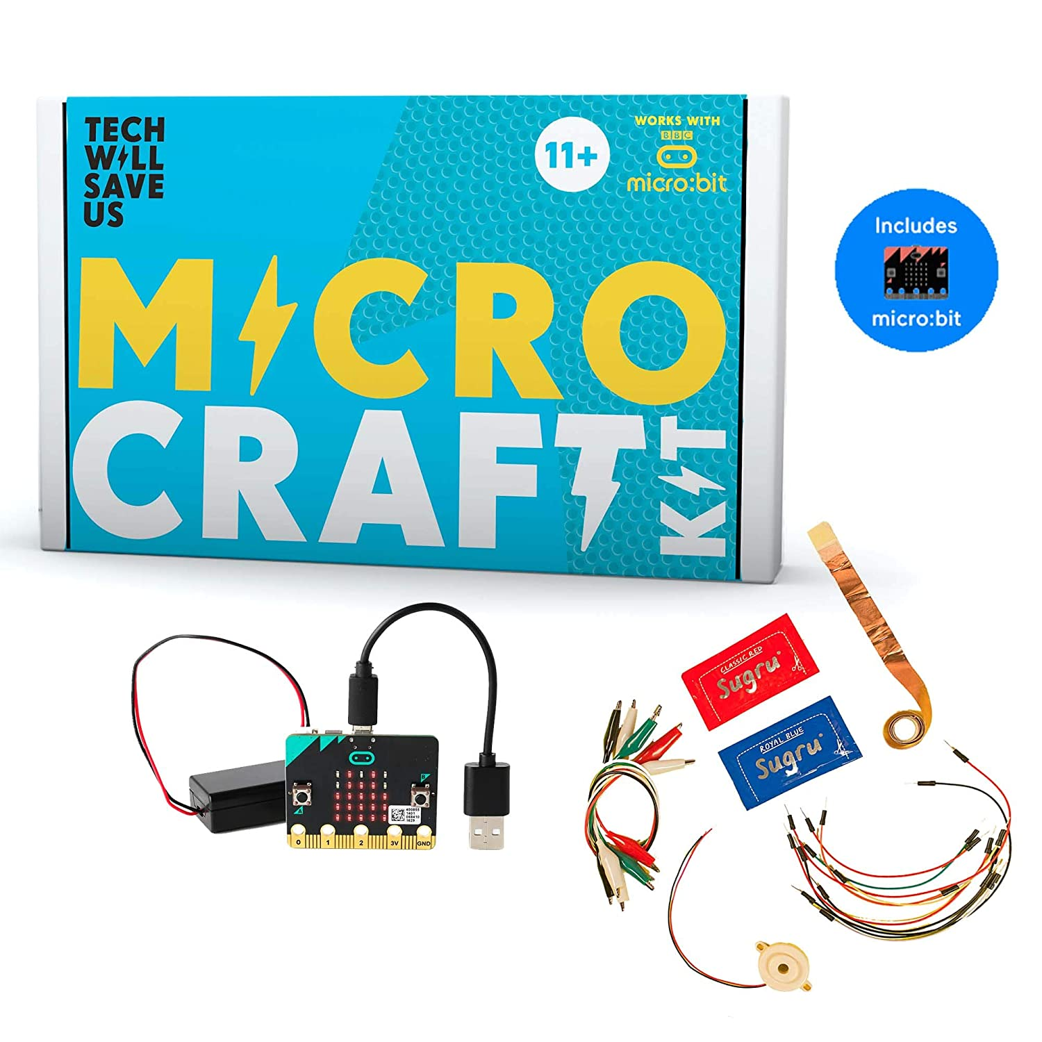 Tech Will Save Us, Micro:craft Pack | Coding games for kids, Ages 11 and up Technology Will Save Us TBUN_0108