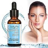 Sérum à l'Acide Hyaluronique, LuckyFine Hydratant pour le visage contient Vitamine C, Anti-âge, Anti Ride 30ml