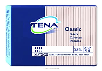 "New TENA Classic Briefs Extra Large/60"" ..."