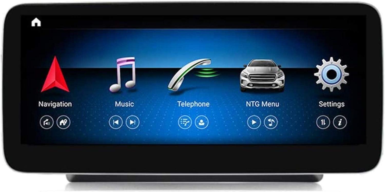 Sistema de navegación Trama de Radio del Coche del USB de conexión Doble DIN Digital Radio Bluetooth GPS Sygic Espejo de tráfico de Radio para Navigationdroid Benz Clase C W205 GLC-Clase
