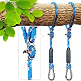 Besthouse Tree Swing Ropes, Hammock Tree Swings Hanging Straps, Adjustable Extendable, for Outdoor Swings Hammock…