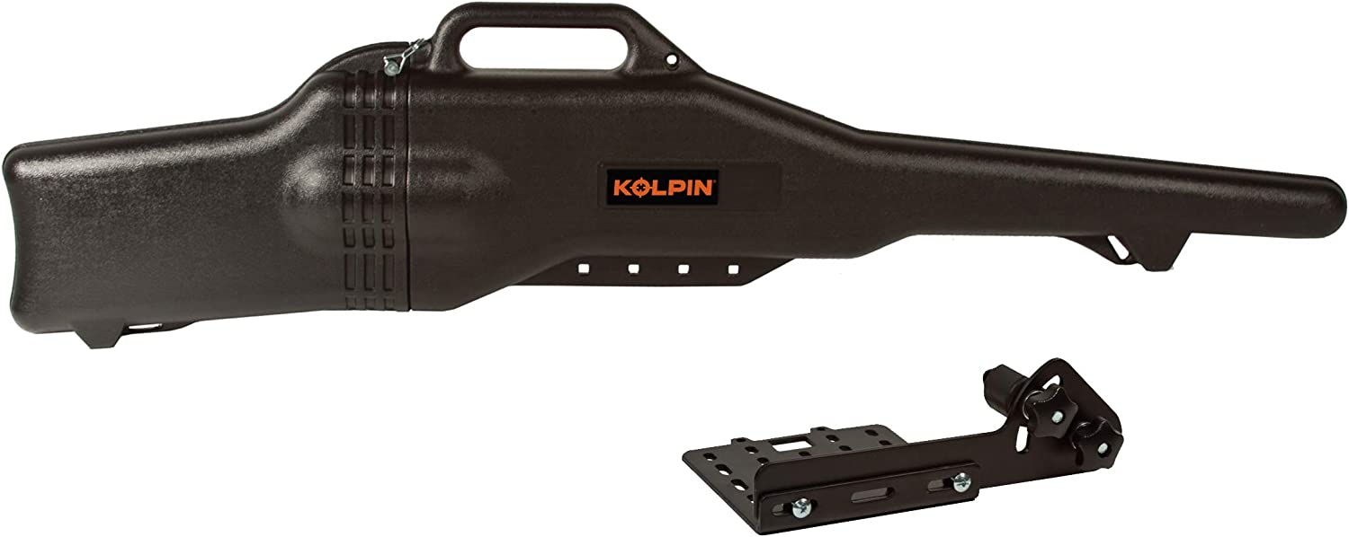 Kolpin Gun Boot 4.3 with Bracket - 20053, Black: Automotive