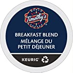 Timothy`s Breakfast Blend Single Serve Keurig Certified Recyclable K-Cup pods for Keurig brewers, 30 Count