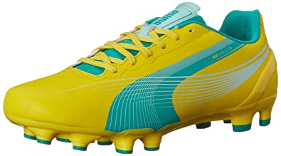Top Quality Puma Evospeed 42 It Core yellow Shoes on sale