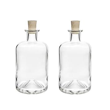 3-24 botellas de vidrio vacías 100ml / 200ml / 350ml / 500ml / botellas