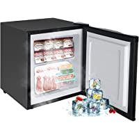 FULLWATT Energy Efficient Silent Freezer Single Door Mini Fridge with Reversible Door 7-Grade Adjustable Temperature 1.1…