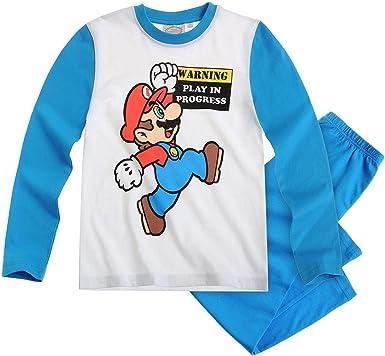 Super Mario Ragazzo Pigiama Due Pezzi