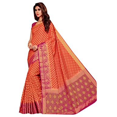 651ce50dcb Amazon.com: Designer Bollywood Silk Bridal Saree Sari for Women Latest  Indian Ethnic Wedding Collection Blouse Party Wear Festive Ceremony 2602 15:  Clothing