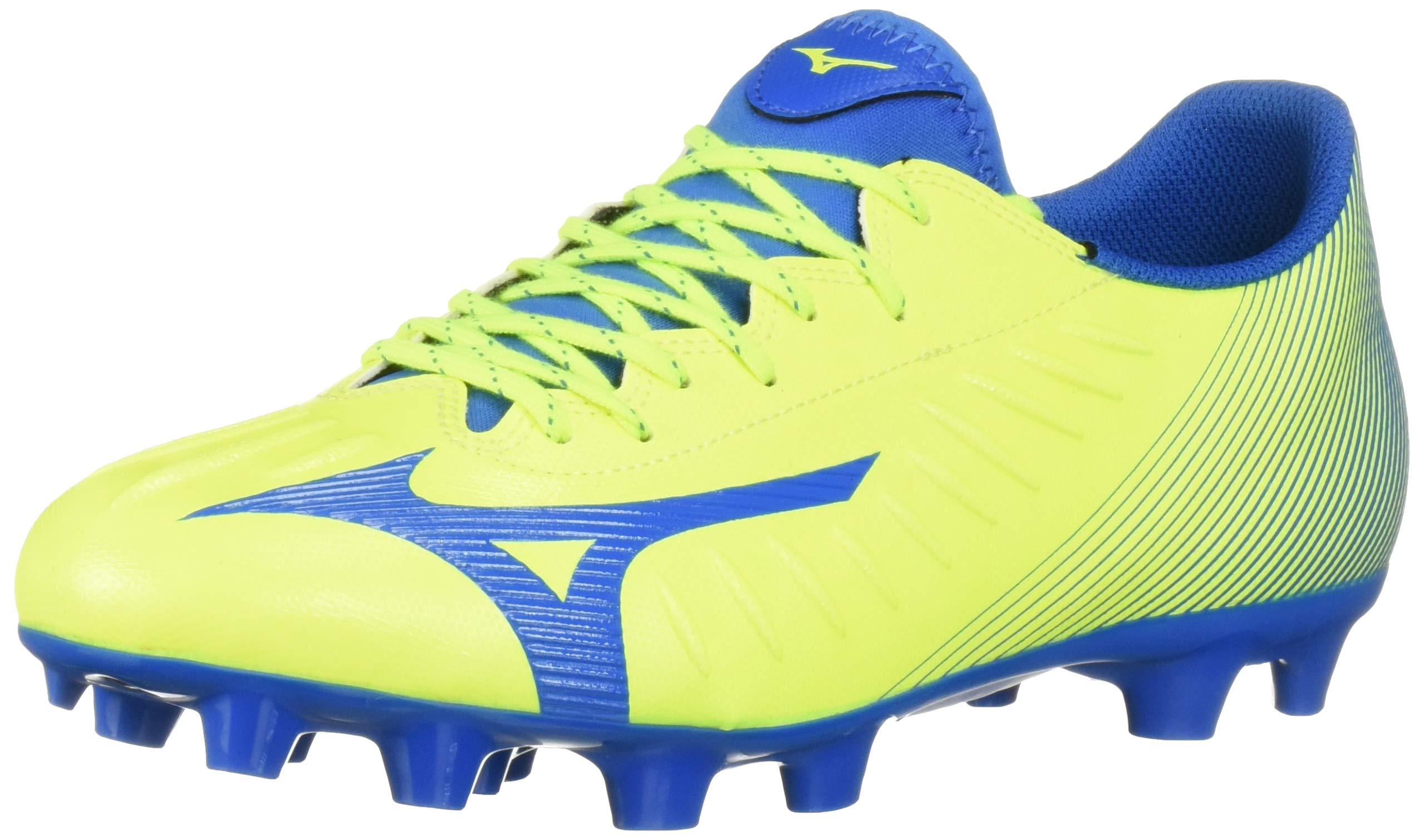 Mizuno Rebula III Select Soccer Shoe, Safety Yellow-Blue, 9 Regular US by Mizuno
