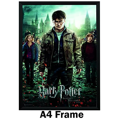 HARRY POTTER AND THE HALF-BLOOD PRINCE POSTER FILM ART A4 A3 PRINT CINEMA