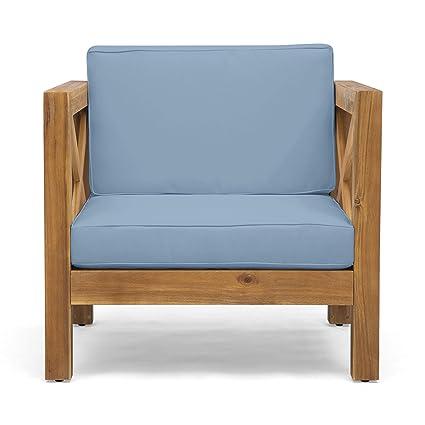 Amazon.com: Great Deal Furniture Indira - Silla de madera de ...
