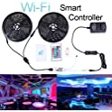 Miheal 32.8-Feet WiFi Smartphone Controlled 300-LED Strip Light Kit