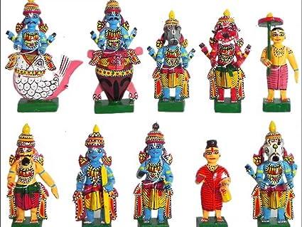 Amazon Com True Facility Kondapalli Traditional Dashavatar