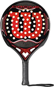 Wilson Drone Paddle - Raqueta, Color Negro/Rojo, Talla NS: Amazon ...
