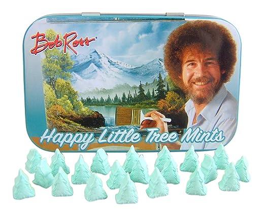 Amazon Com Bob Ross Happy Little Tree Mints 1 Grocery Gourmet Food