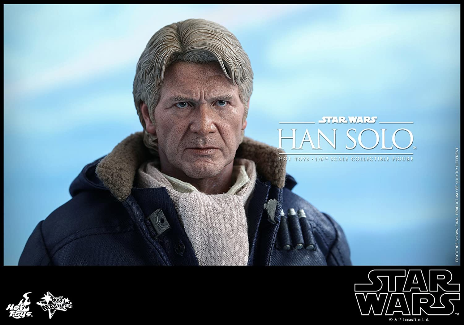 Figura hottoys Star Wars han Solo Episodio VII 30 cm: Amazon.es: Juguetes y juegos