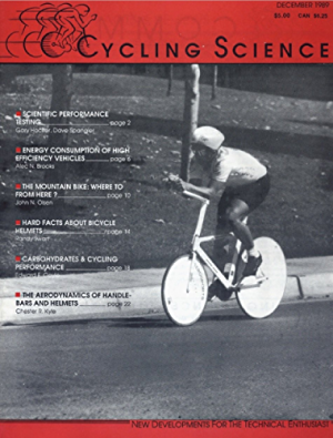 Cycling science: A technical journal for bicycling enthusiasts