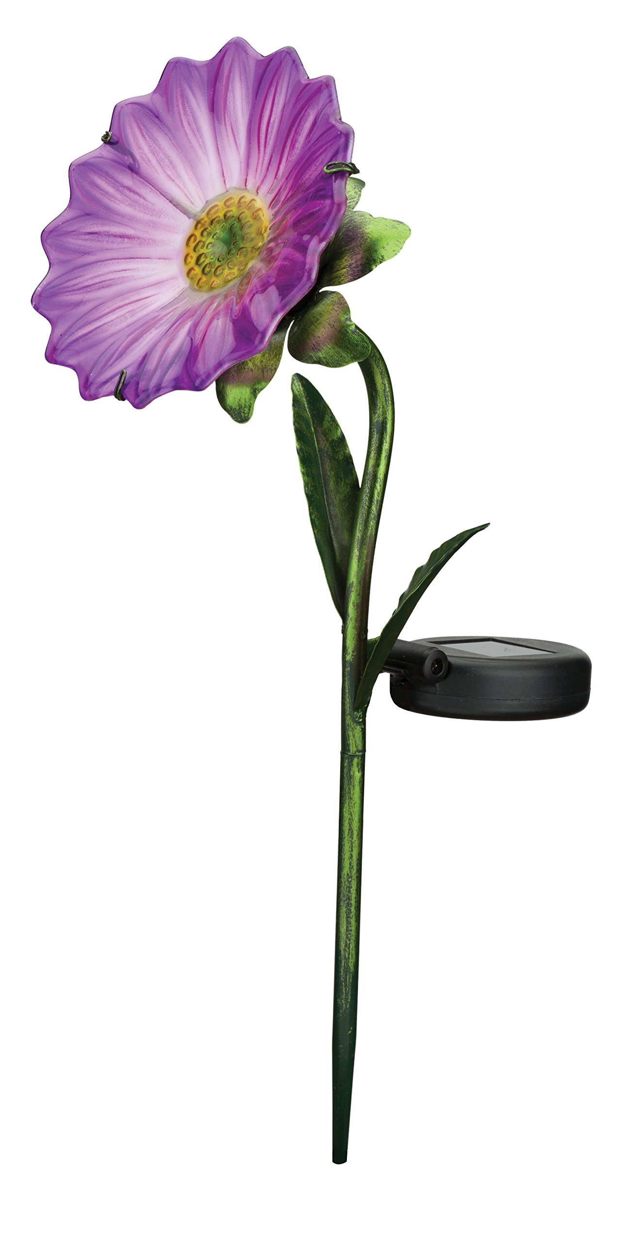 Regal Art & Gift 11636 Mini Daisy Stake Solar Light Garden Decor, Purple