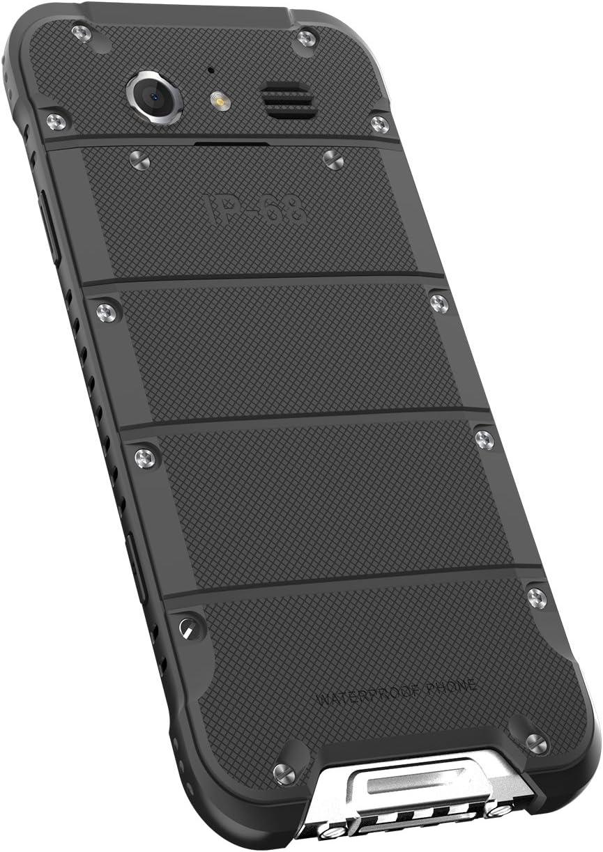 Ulefone Armor Smartphone Dual SIM-Libre 4G LTE 32GB Android 6.0 4.7 pulgados Resistente al Agua, los Golpes y el Polvo 3GB RAM 32GB ROM IP68 13MP+5MP Dual cámara Desbloqueado teléfono móvil: Amazon.es: