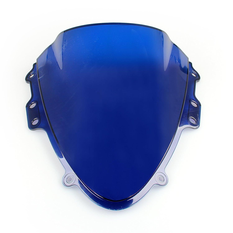 Areyourshop Pare-brise double bulle pour GSXR 600//750 2004-2005 K4