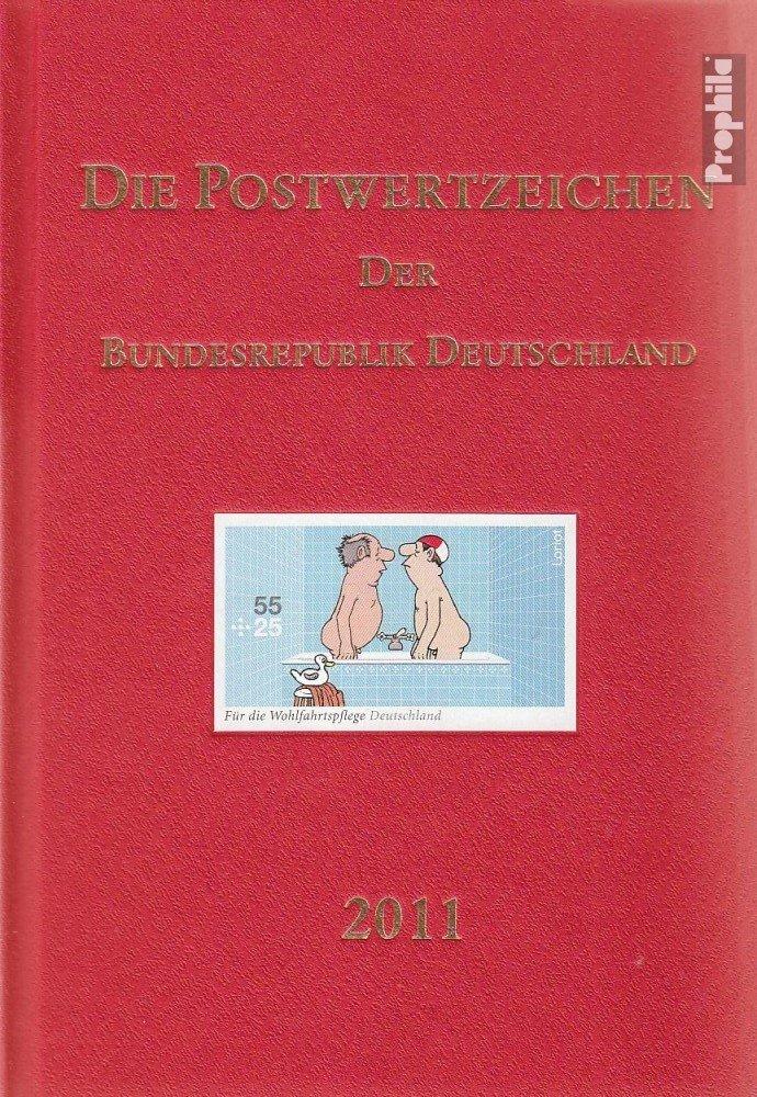 Prophila Collection Germania 2011 Ufficiali Annuario Il Tedesco Post (Francobolli per i Collezionisti)