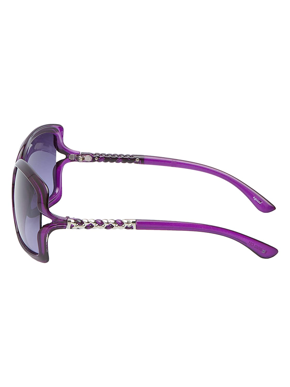 59b7cca90ce Vast UV Protection Square Over size women Sunglasses (EQ-30002-C01)   Amazon.in  Clothing   Accessories