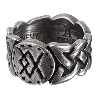 Alchemy Gothic (Metal-Wear) Viking Virility Runering Ring xBOGwoXYJV