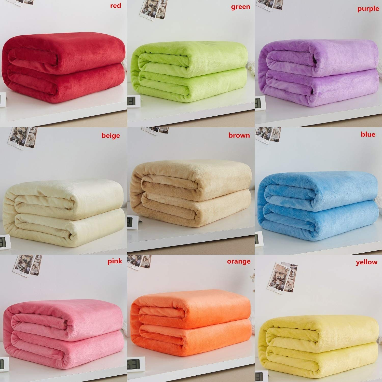 Amazon.com: Lichaoyang Home - Manta de franela textil, muy ...