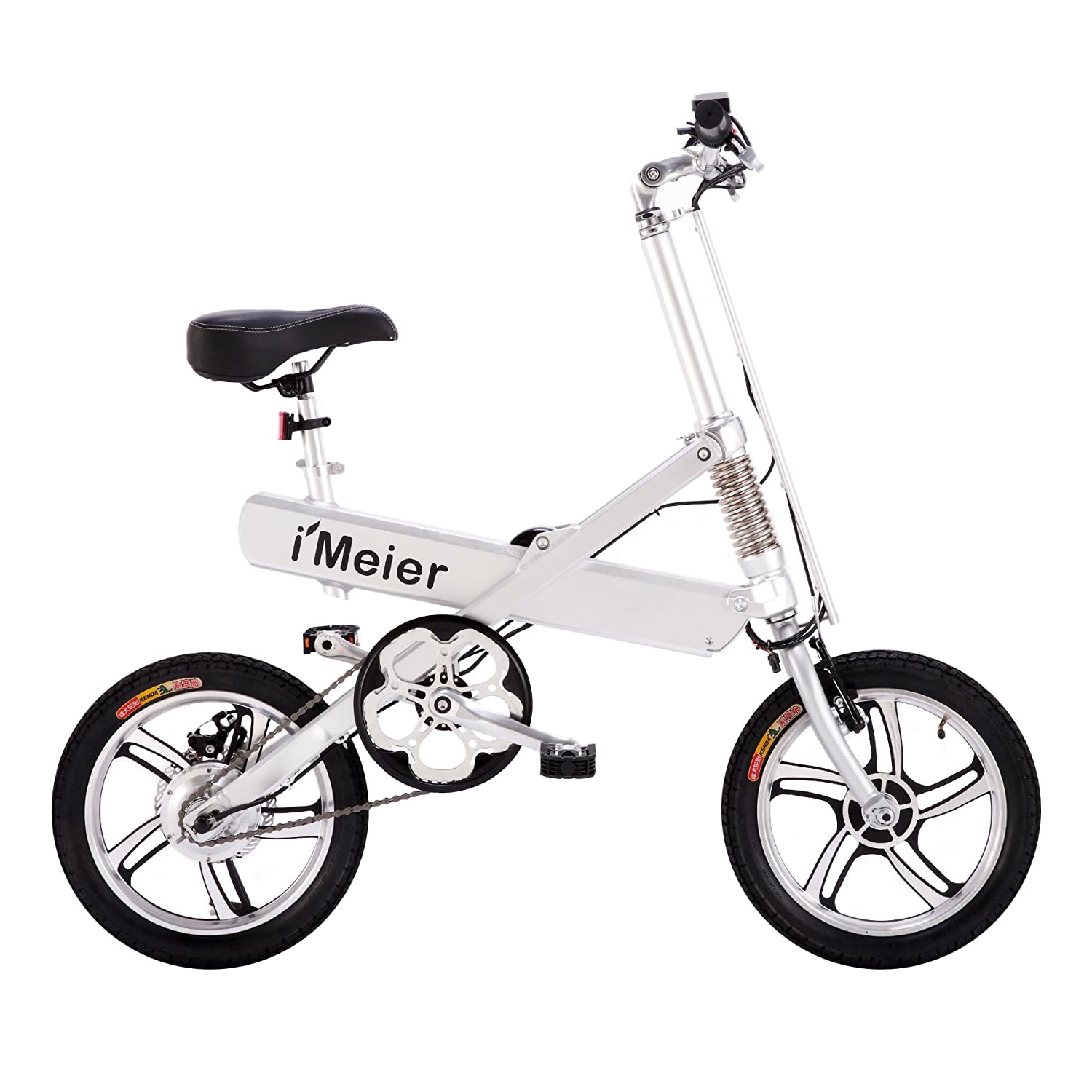 217b9cf31fe Amazon.com : RASSINÉ Electric Bicycle Extra Long-Range Riding, Foldable  eBike, Optional Pedal Assisted, Aluminum Alloy Electric Bike by iMEIER :  Sports & ...