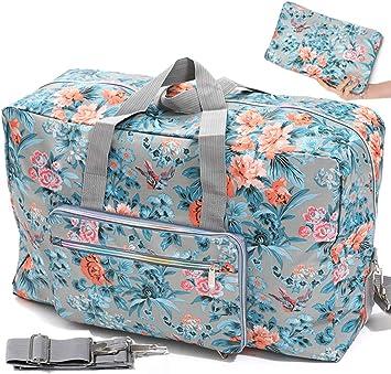 Gym Bag Colored Beautiful Bird Women Canvas Duffel Bag Cute Sports Bag for Girls