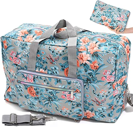 Artistic Abstract Color Travel Lightweight Waterproof Foldable Storage Carry Luggage Large Capacity Portable Luggage Bag Duffel Bag