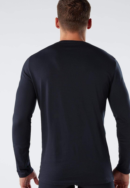 Intimissimi Mens Long-Sleeve Supima Cotton Top