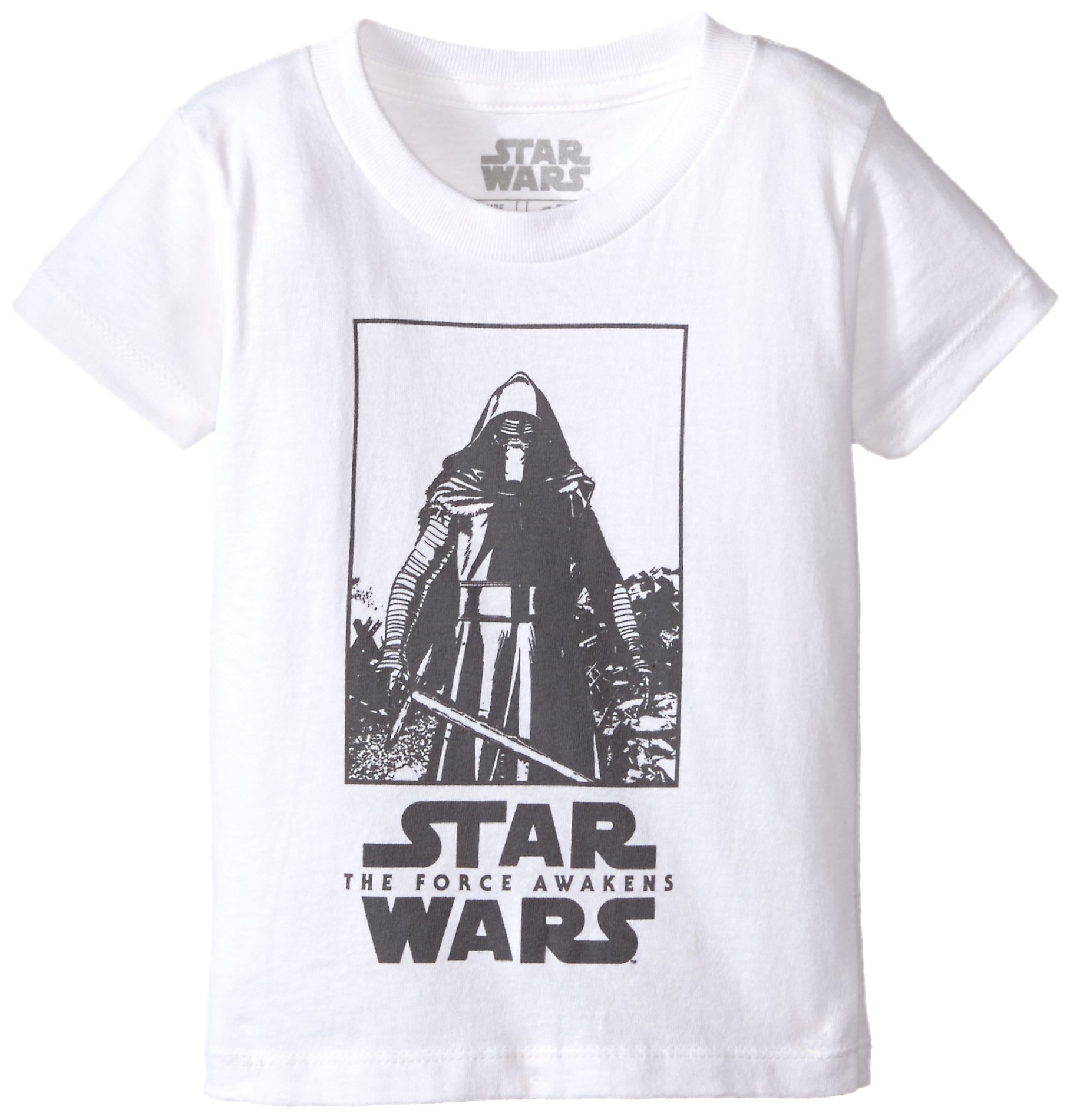 Star Wars Big Boys' T-Shirt, Fresh White, Large/14-16 by Star Wars (Image #1)