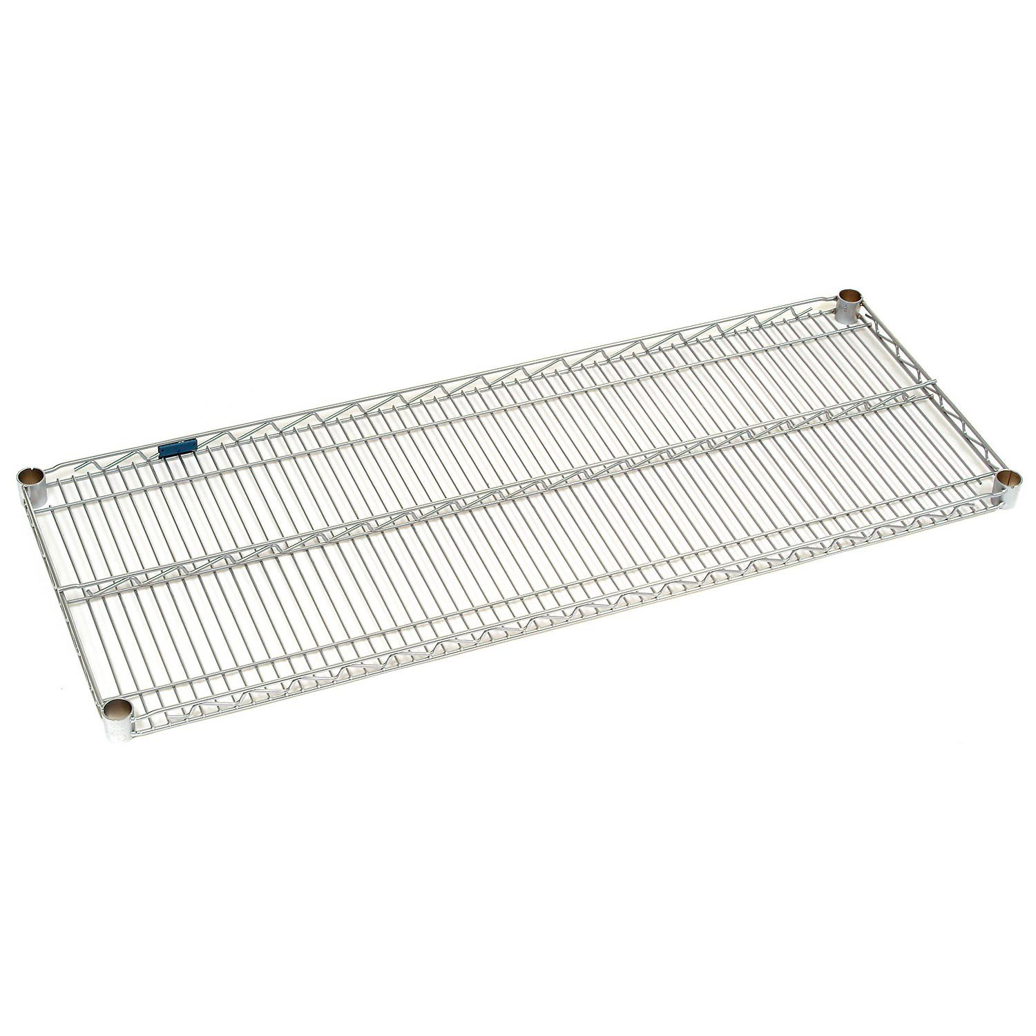 Stainless Steel Wire Shelf with Clips, 36 x 18