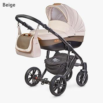 Carro 3 piezas completo color BEIGE incluye grupo 0 CAMINI: Amazon.es: Bebé